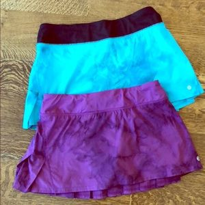 2 Lululemon Skirts size 4